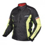 RACER AIR SYSTEM bunda pánska reflexna 2 pc black/flou 4XL