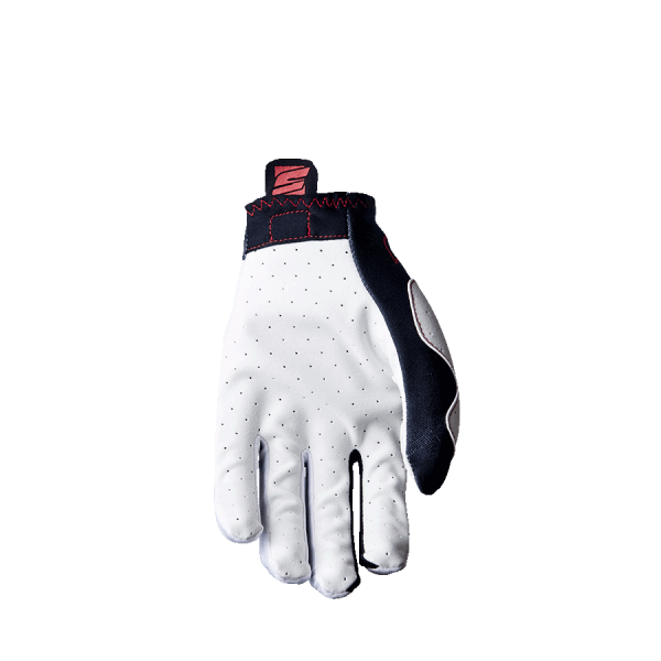 FIVE RUKVICE PLANET MX PRACTICE WHITE/RED L