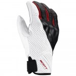 SCOTT Rukavice LANE enduro white/red vel.M