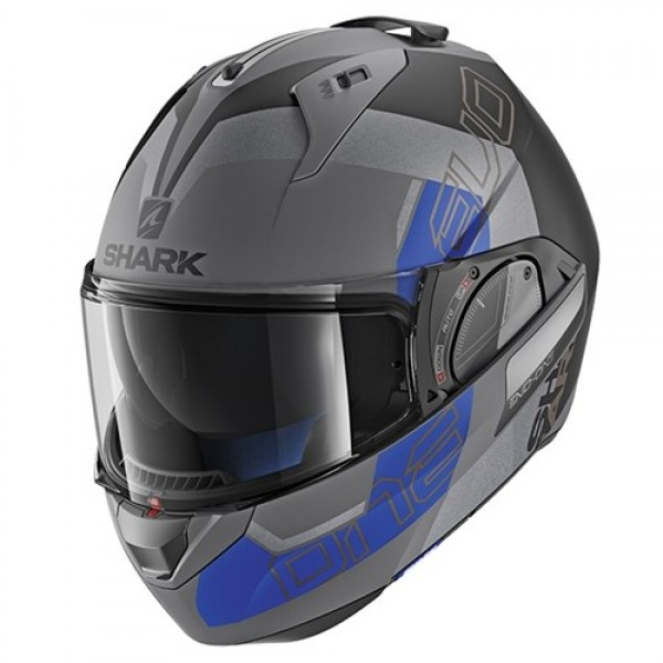 Moto prilba Shark Evo-One 2 Slasher MAT ABK