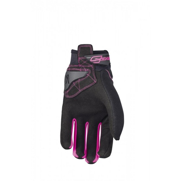 Moto rukavice Five Globe women B/fluo